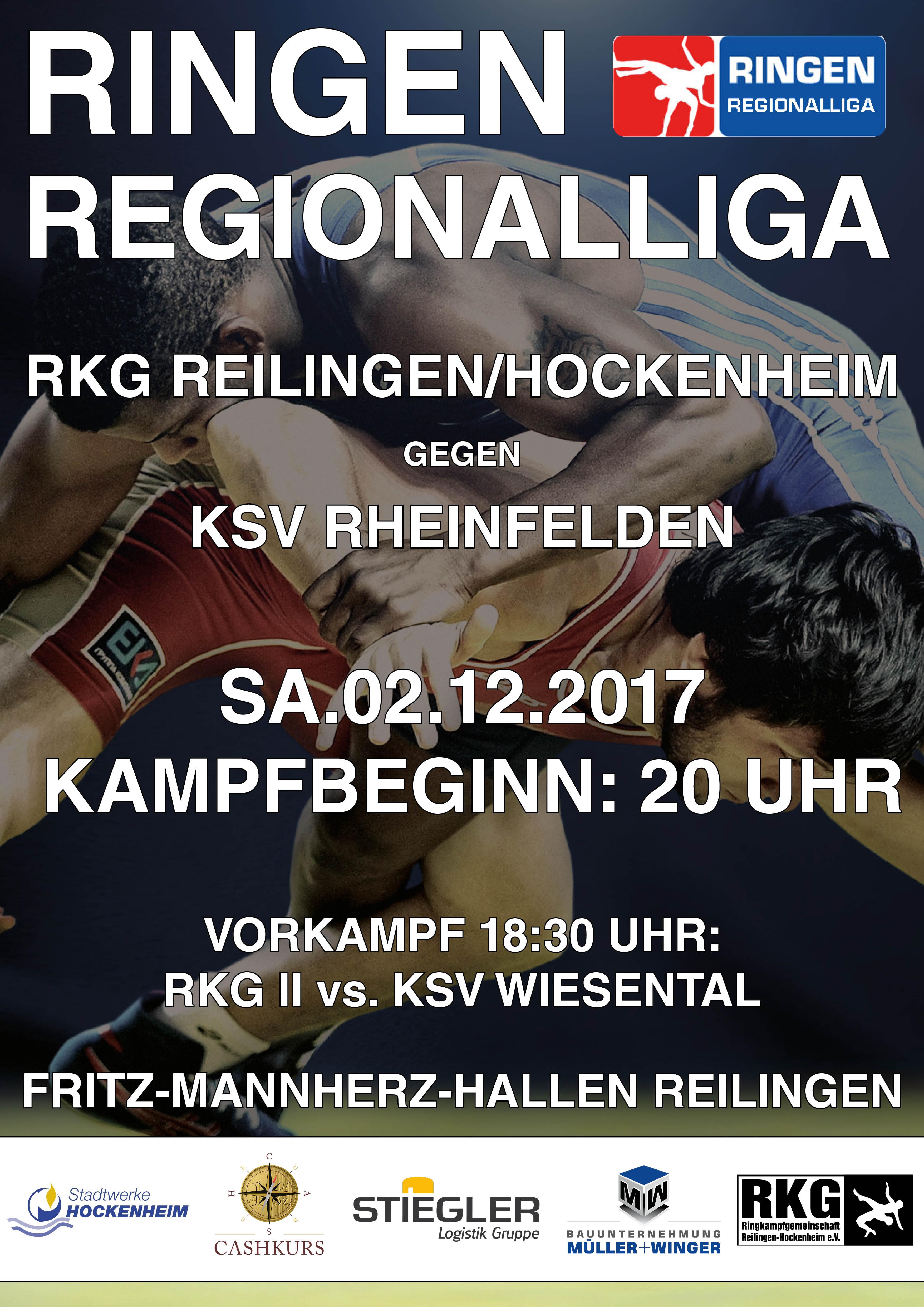 Kampfvorschau: RKG will erfolgreich ins Saisonfinale starten