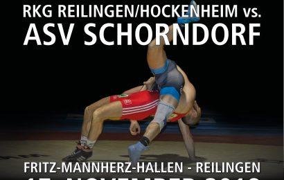 Kampfvorschau: Knaller gegen den ASV Schorndorf