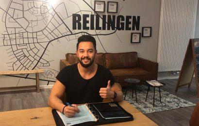 Thilo Dicker erfüllt sich Bundesliga Traum und bleibt in Reilingen
