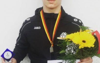 Deutscher Junioren Vizemeister Ludwig Weiß