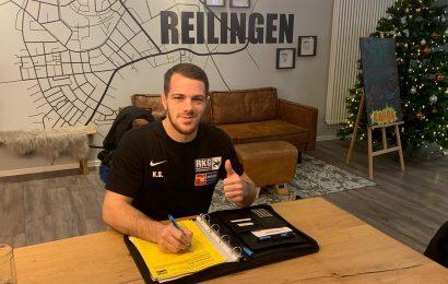 Kevin Schellin bleibt in Reilingen
