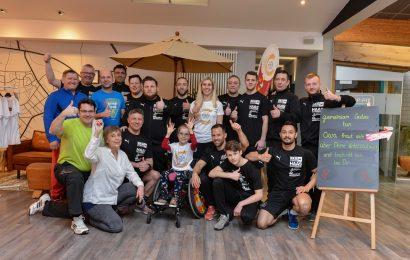 RKG Familie sportelt im TOP FIT für Ciara