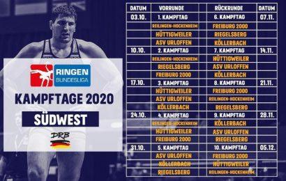 Alles angerichtet: Ringen Bundesliga 2020 steht in den Startlöchern